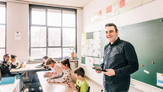 Tim, leraar derde graad