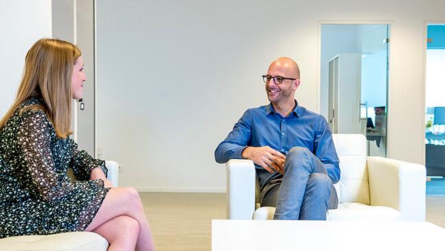 HR-specialist Jeroen Smeulders