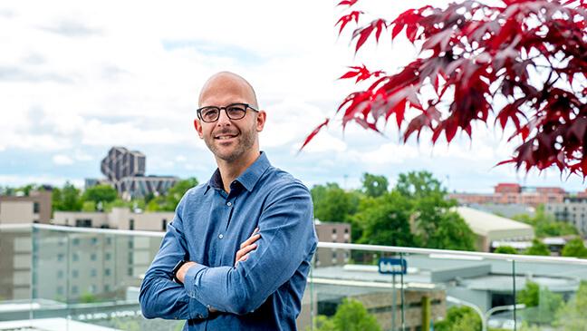 portret HR-specialist Jeroen Smeulders