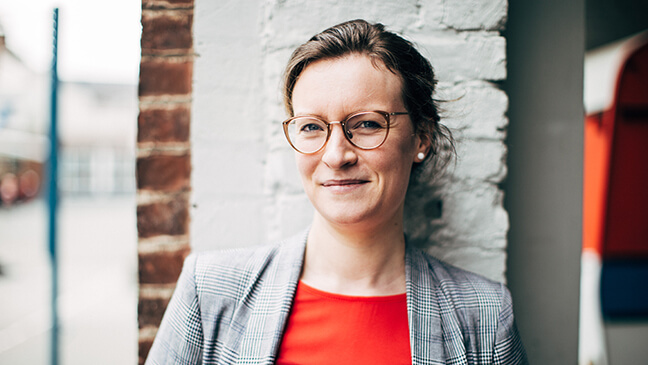 Onderwijsassistent Dorien D'hoe