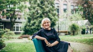 Portret Hilde Rabaut, lector wiskunde aan de Hogeschool Gent