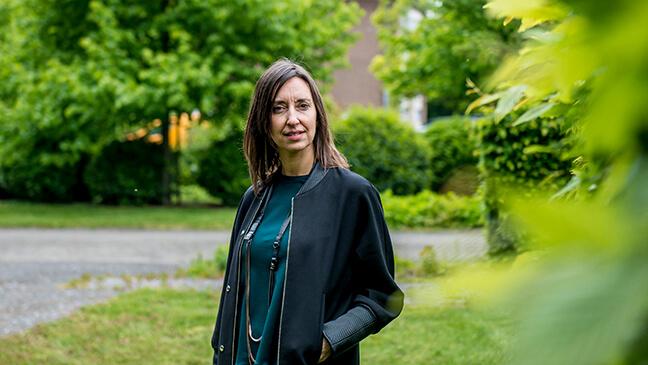 portret Annick Jehaes, leraar wiskunde én loopbaancoach