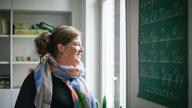 Nina, leraar NT2