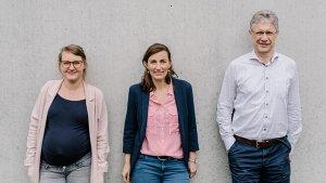 Specialist Marieke en leraren Christian en Sarah