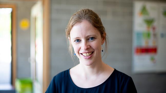 Portret Esther Van Hellemont