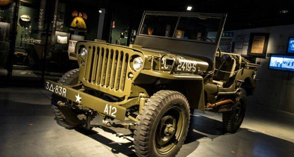 legerjeep uit tweede wereldoorlog