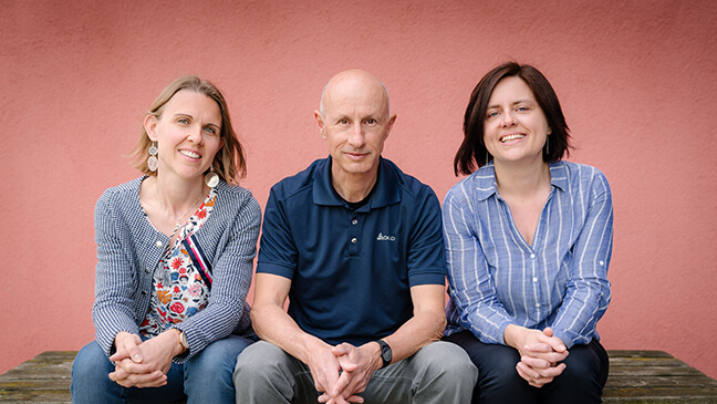 3 leraren van de vakgroep duits van het Sint-Jozefsinstituut-college