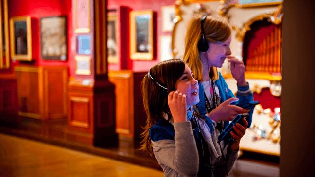 kindjes in het Museum Vleeshuis