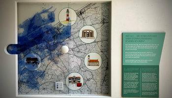 infobord over de stormvloedkering