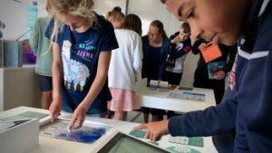 kinderen in doe-tentoonstelling