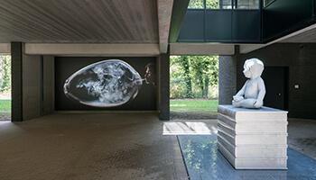 installatie van Koen Vanmechelen
