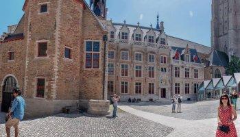 panorama op nieuwe Gruuthuse Museum