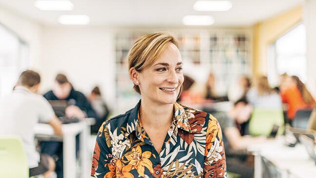 Jana De Geyter in de agora-klas