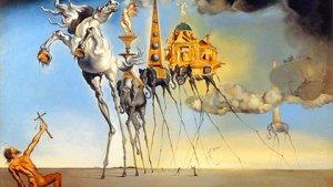 De bekoring van Sint-Antonius van Salvador Dali