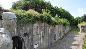 restant van het Fort van Loncin