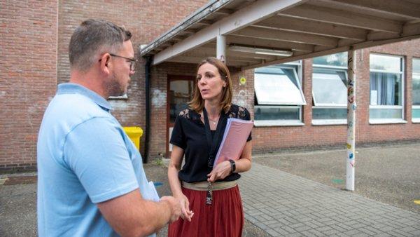 Redacteur Stijn in gesprek met Ellen Noukens, pedagogisch coördinator