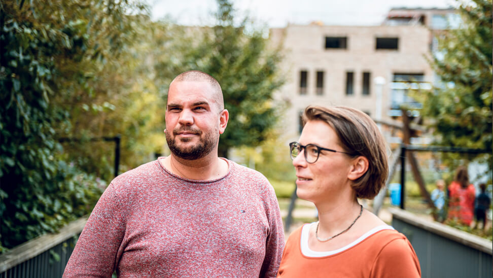 Directeur Willem Schoors en Ruth Wouters