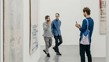 bezoekers aan het centrum voor Hedendaagse Kunst, Wiels