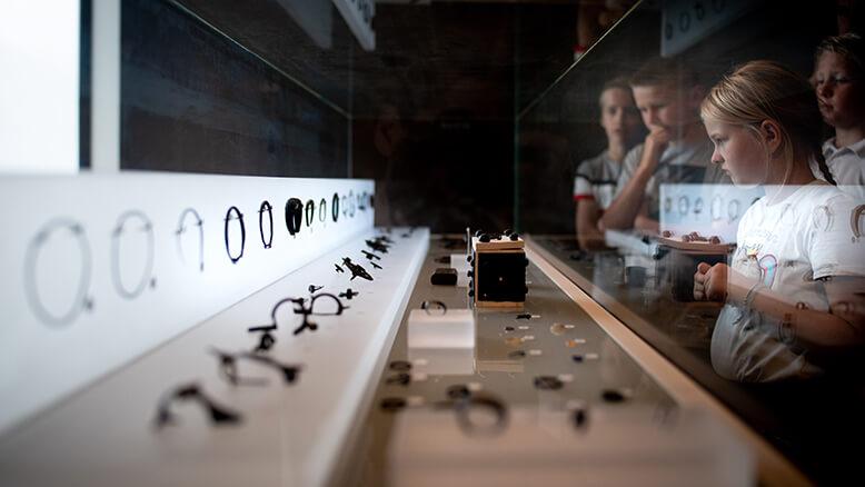 Klas bezoekt het Gallo-Romeins Museum