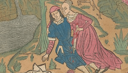 beeld uit expo Ovidius in Metamorfose
