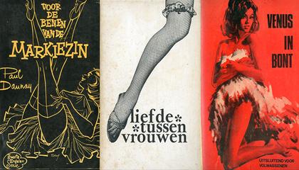 boekcovers in Erfgoedbibliotheek Hendrik Conscience