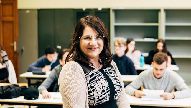 Kathelijn Vervarcke leraar Nederlands en schrijver - KOPP-kind