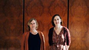 Anne Callewaert en Carol Rosseel van CGG Mandel en Leie over kopp-kinderen in de klas