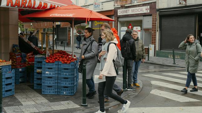 Startende leraren tijdens inleefreis in Molenbeek