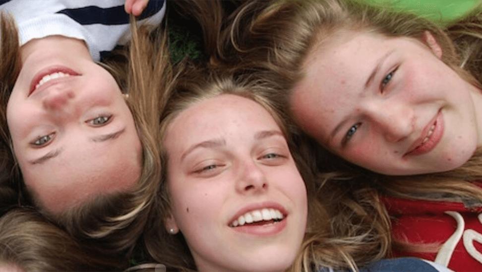 Foto van 3 meisjes
