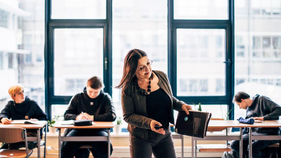 Goedele De Swaef van Atheneum Wispelberg gaat aan de slag met Gentle Teaching in haar klas.