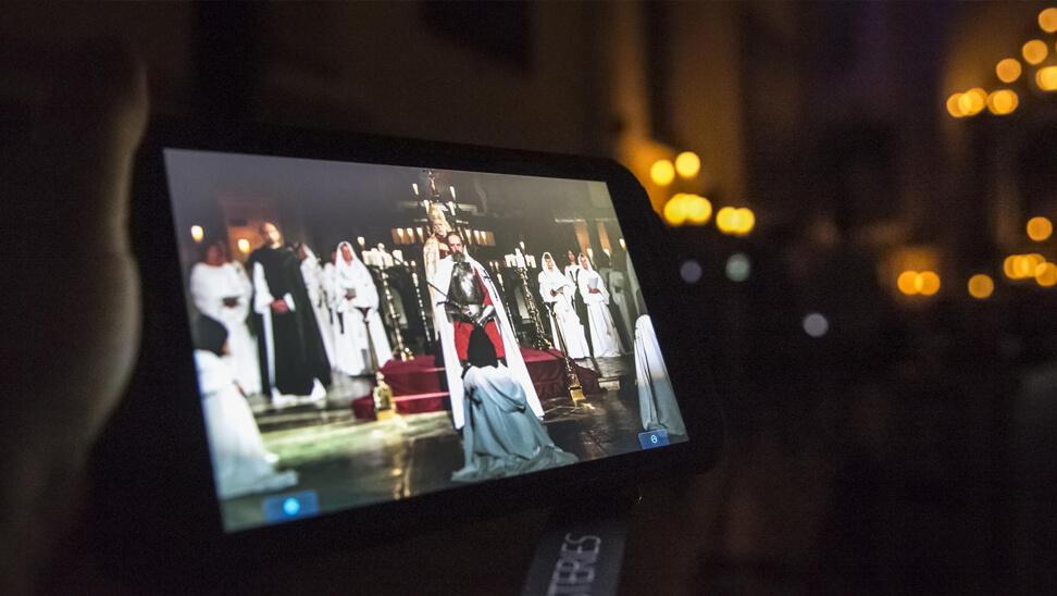 'het verhaal' op een tablet