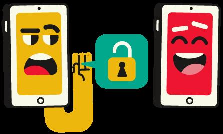 cyberpesten: illustratie 'te kijk zetten'