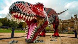 Dinosaurus in legoblokken