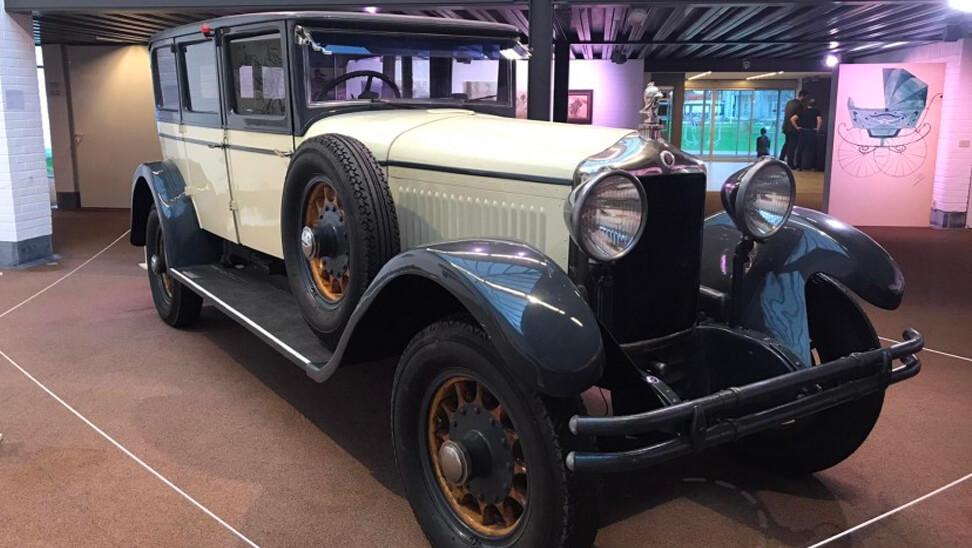 exclusieve auto op de expo 'design op wielen'