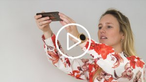 Leraar maakt filmpje voor leerlingen