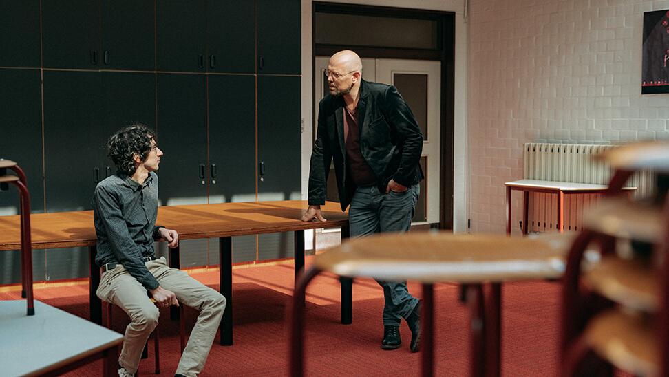 Directeurs Bart De Roeck en Mattias Paglialunga doen hun aanpak rond afstandsonderwijs uit de doeken.
