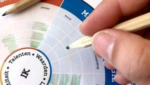 Energietool: Kopmanwiel met 4 domeinen - Relationele energie / Mentale energie / Fysieke energie / Existentiële energie