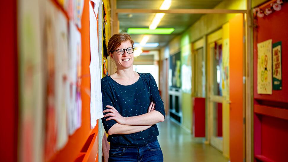 zorgleerkracht Liesbeth Van Herck in De Kraal
