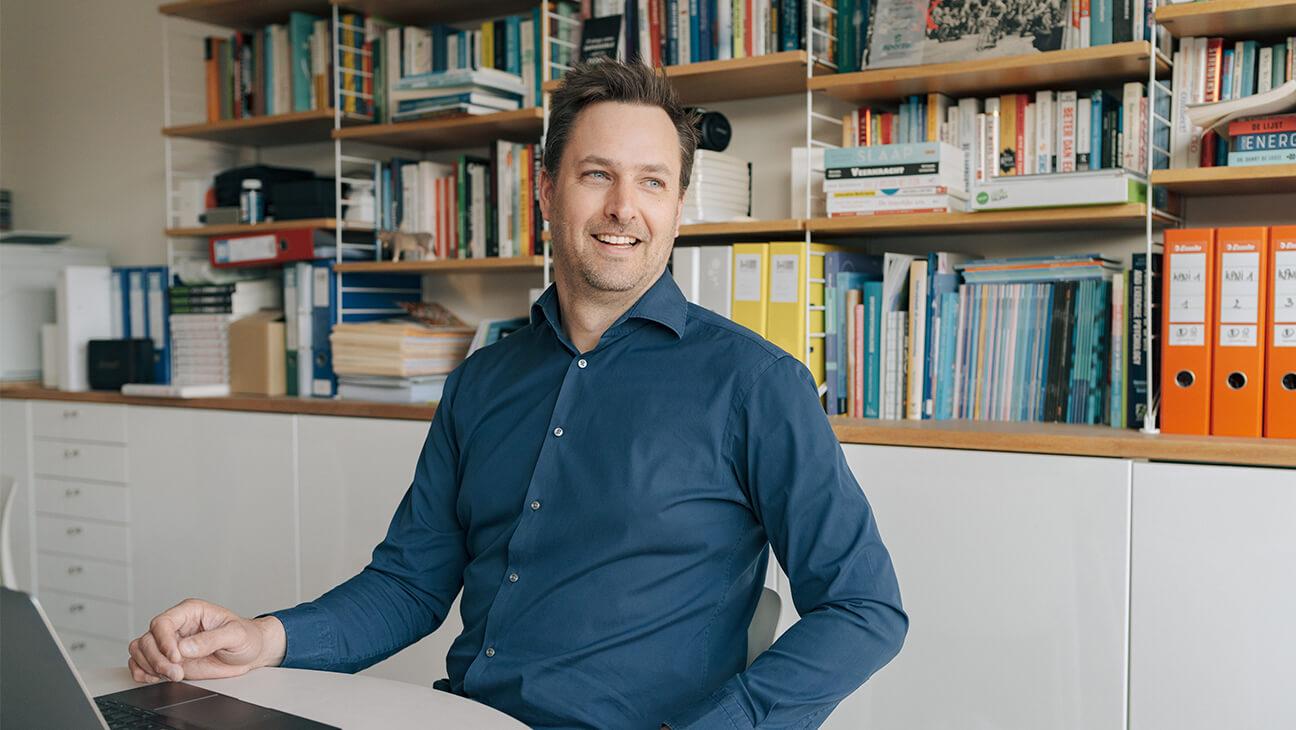 Coach Peter Beschuyt ontwikkelde samen met zijn collega's een energietool: het Kopmanwiel.