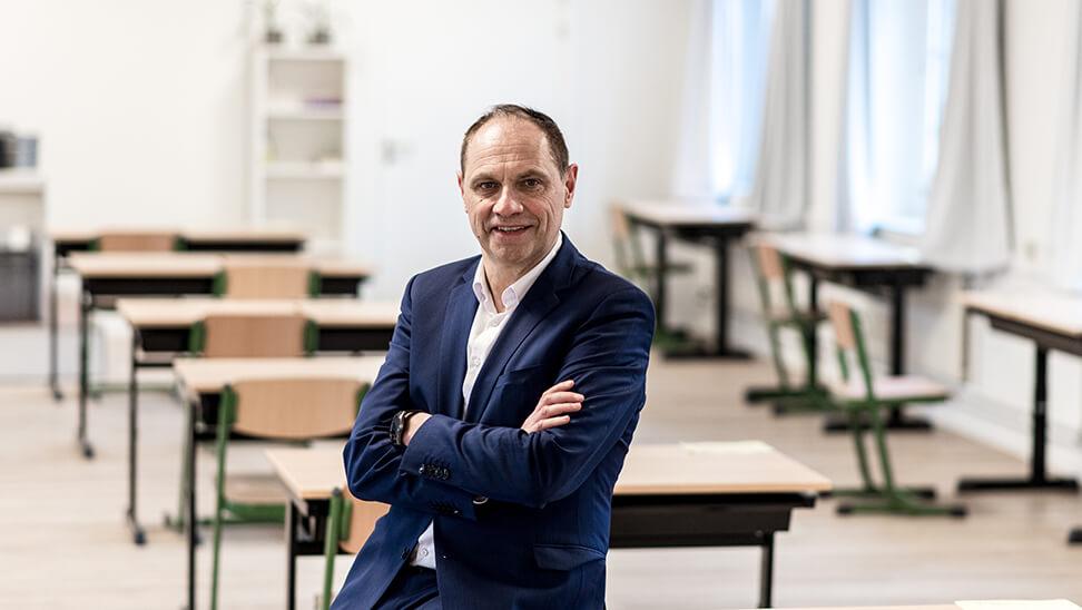 Philip Brinckman, pedagogisch directeur van het Sint-Jozefscollege in Turnhout., leidt de expertengroep.