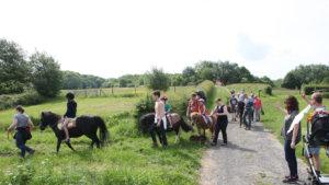 pony-rit in het Heuvelland