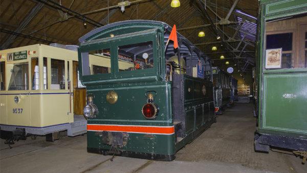 trams in Tramsite Schepdaal