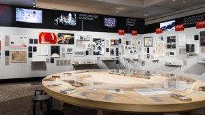 beeld uit de expo 'Victor Papanek - The Politics of Design'