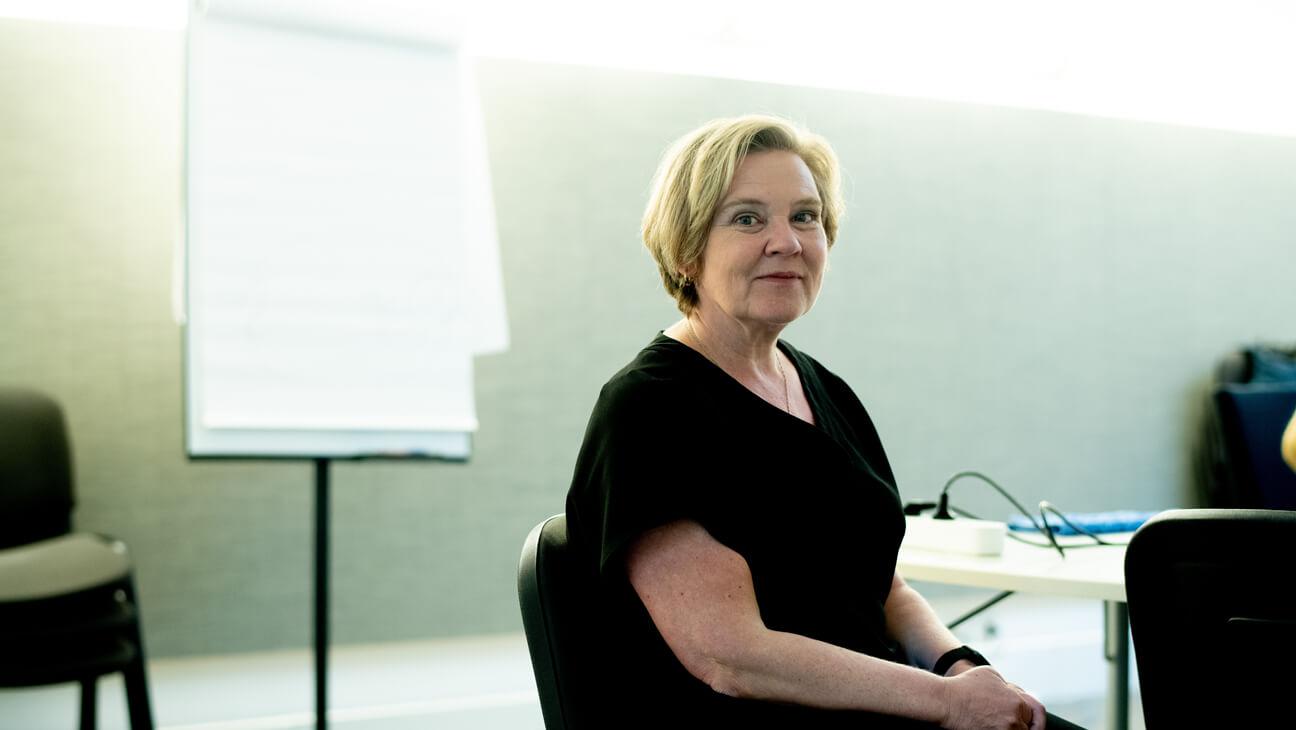 Portret van Trauma‑expert Tine Daeseleire