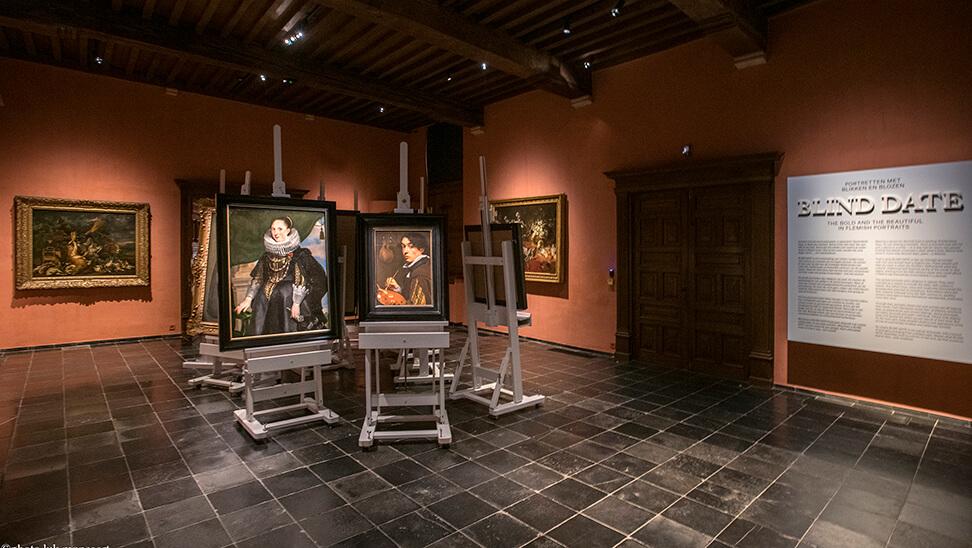 beeld uit de expo 'blind date'