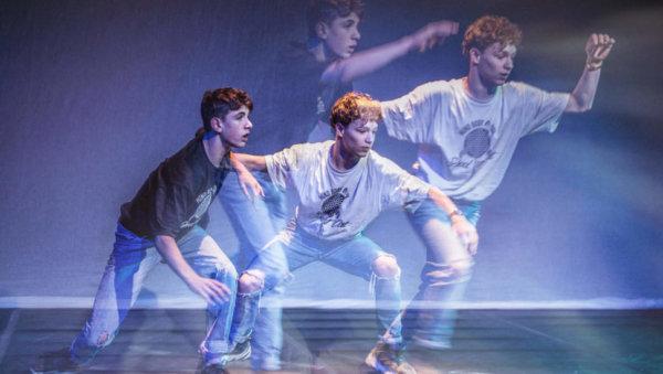 danser in slow motion