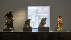 Zaalzicht 'Rodin, Meunier & Minne' in M