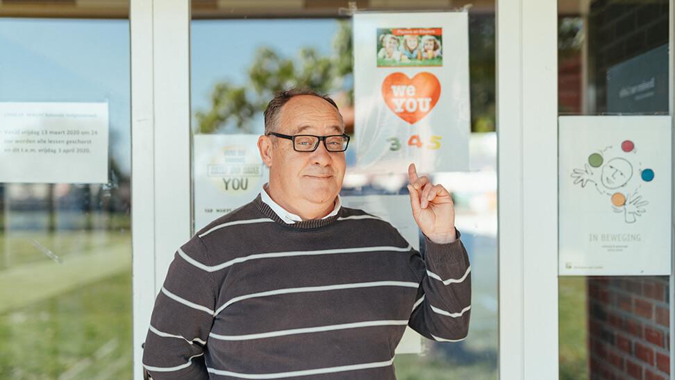 Directeur Philip Van Santen over veiligheidsmaatregelen bij het heropstarten van scholen