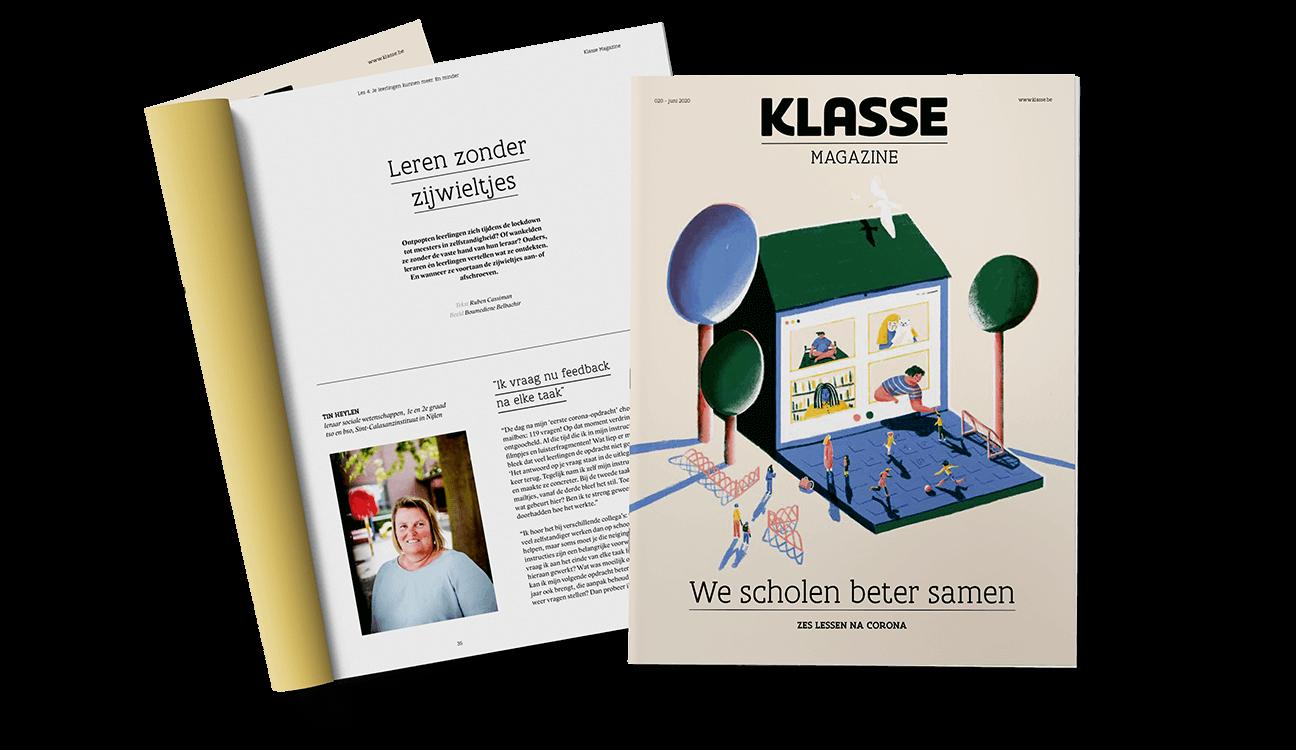 Cover van Klasse Magazine 20