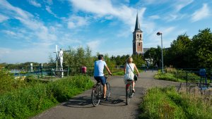 Fietsen in Scheldeland